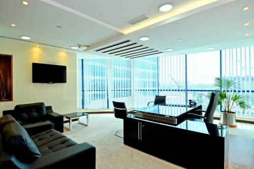 Jumeirah Bay Tower - vacant fitted furnished office