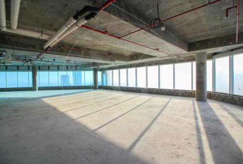 Open plan full floor | Shell and core | High Floor