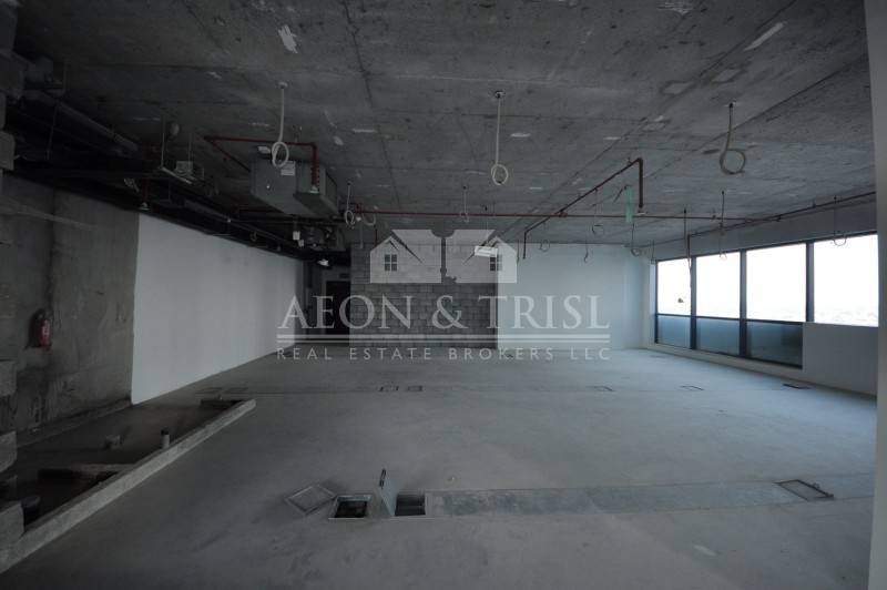 Excellent Office Shell n Core for Rent in tower in JLT- th-img3
